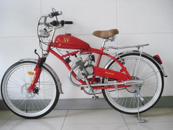 gas motor bike
